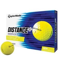 Мячи TaylorMade Distance+ yellow